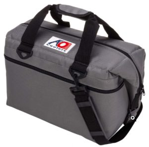 AO Coolers Canvas Soft Cooler with High-Density Insulation, Charcoa