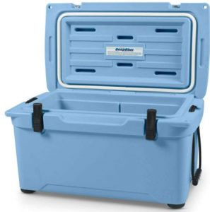 Engel 35 High Performance Durable Roto Molded Airtight Ice Cooler, Arctic Blue