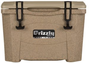 E:\Rahul Ji AMAZON\Best Ice Cooer\Article Images\Grizzly 15 Quart Sandstone_Tan Cooler _ Sports & Outdoors.jpg