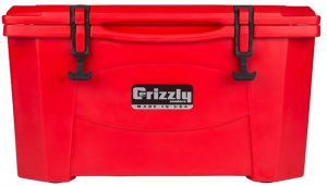Grizzly 40 Quart Red/Cooler