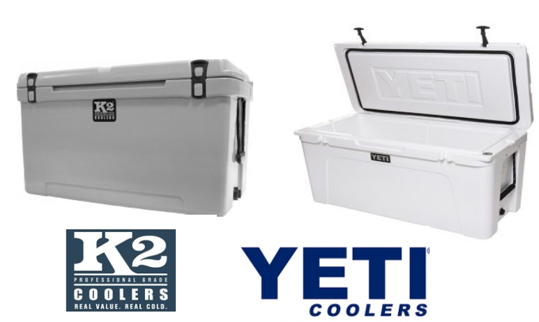 K2 Color Vs YETI cooler