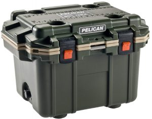 Pelican Elite 30 Quart Cooler (Green_Tan) _ Sports & Outdoors