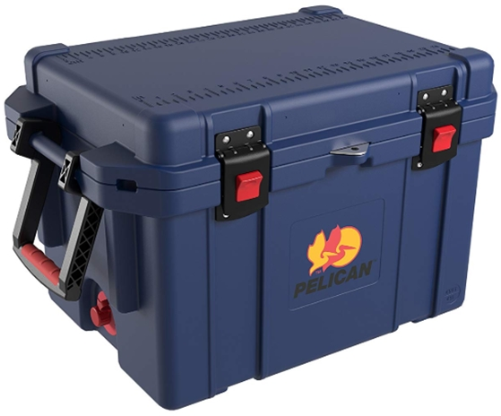 Pelican Elite 45 Quart Cooler (Dark Blue)